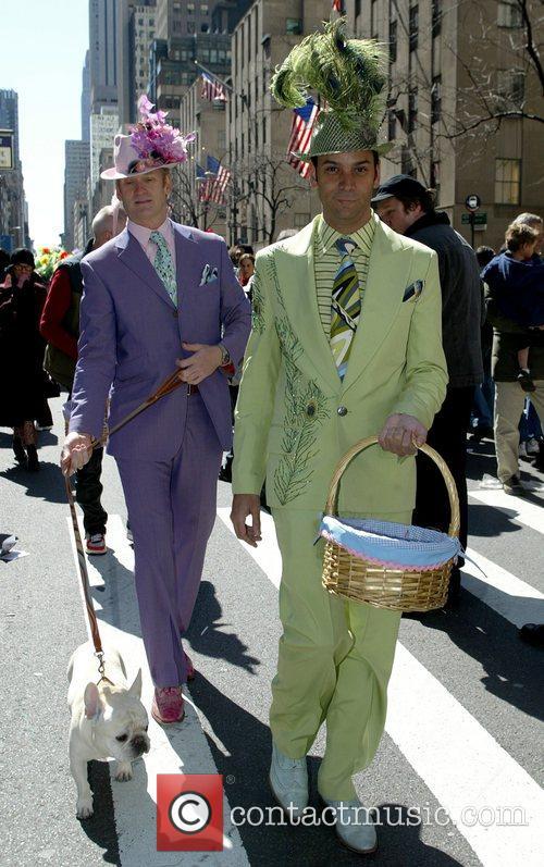 Mark Haldemark and James Aguilar 2008 Easter Parade...