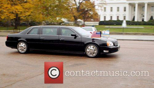 Israeli Prime Minister Ehud Olmert's limousine Israeli Prime...