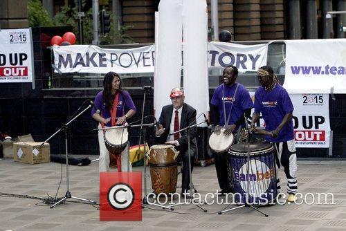 Tony Pooley, Deputy Lord Mayor of Sydney with...