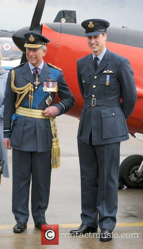 Prince William and Prince Charles 7
