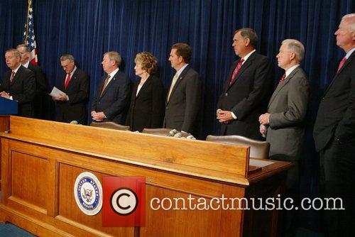 Republican leaders address issues regarding the US border...