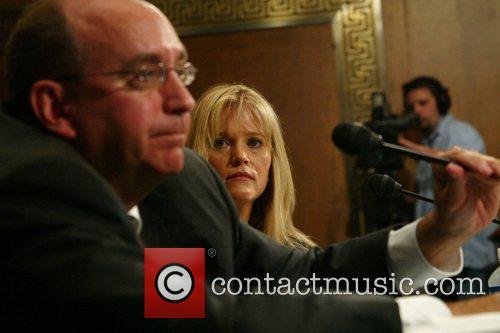 President Bush's former political director Sara Taylor arrives...