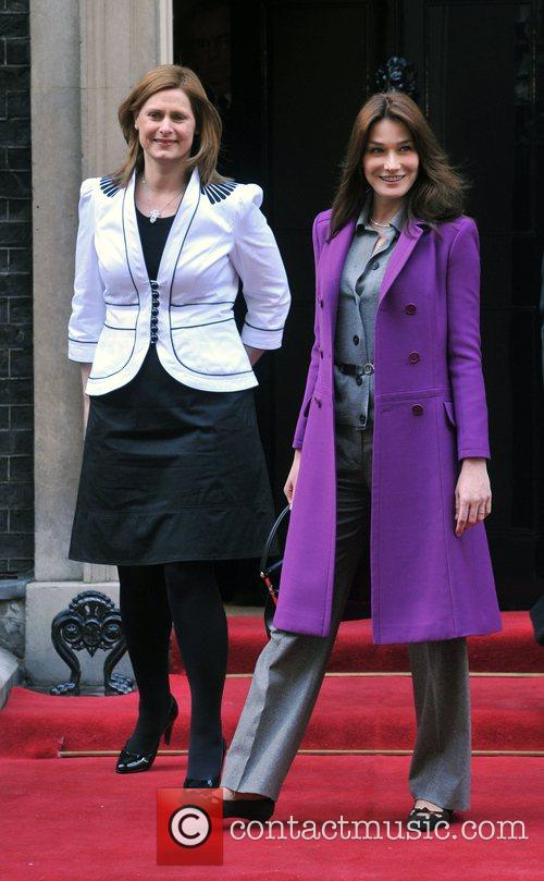 Sarah Brown, Carla Bruni and 10 Downing Street 6