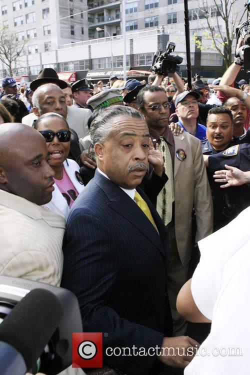 Al Sharpton  Reaction to the Sean Bell...
