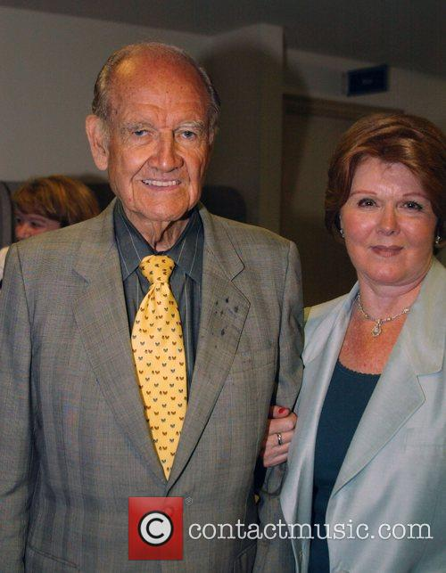 Ambassador George McGovern and guest Former presidential candidate...