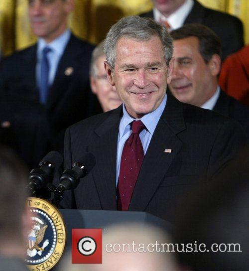 U.s. President George W. Bush 9