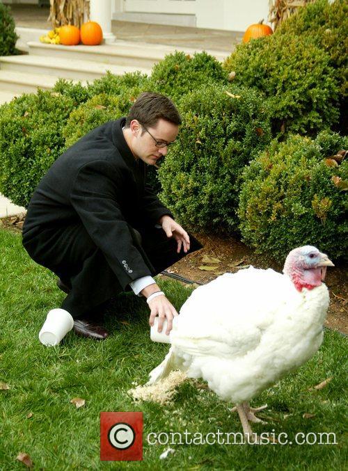 Nick Butterfield President George Bush Pardons National Thanksgiving...