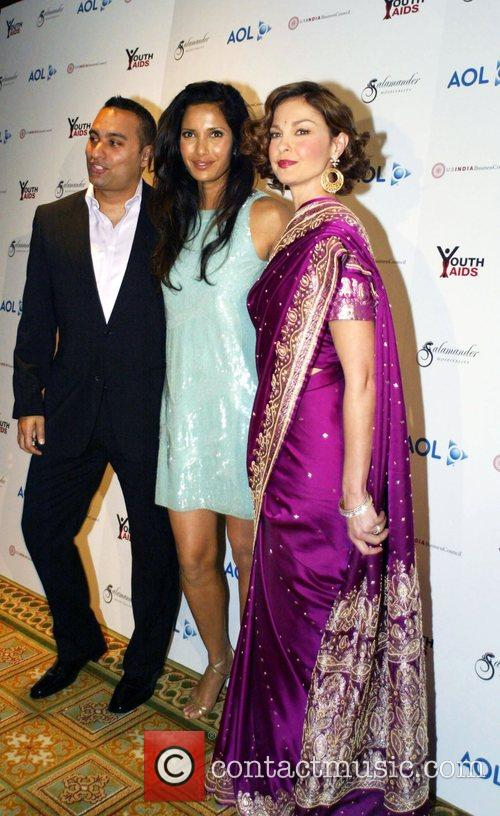 Russell Peters, Ashley Judd and Padma Lakshmi