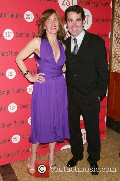 Alice Ripley & Brian d'Arcy James Opening Night...