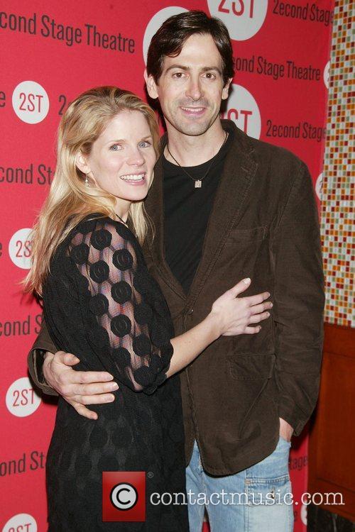 Kelli O'Hara and husband Greg Naughton Opening Night...
