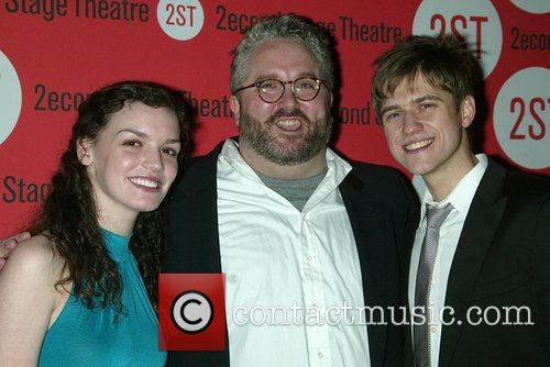 Jennifer Damiano, Brian Yorkey and Aaron Tveit Opening...