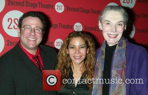 Michael Greif, Daphne Rubin-Vega and Marian Seldes Opening...