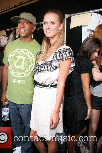 Russell Simmons and Nicky Hilton 2