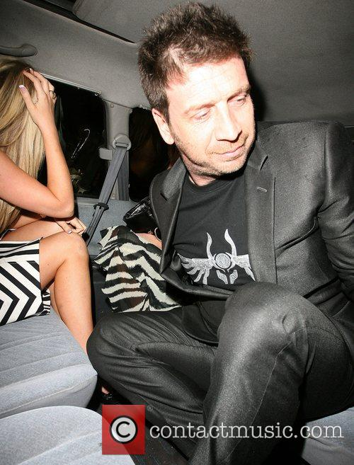 Nick Knowles looks rather embarrassed after he is...