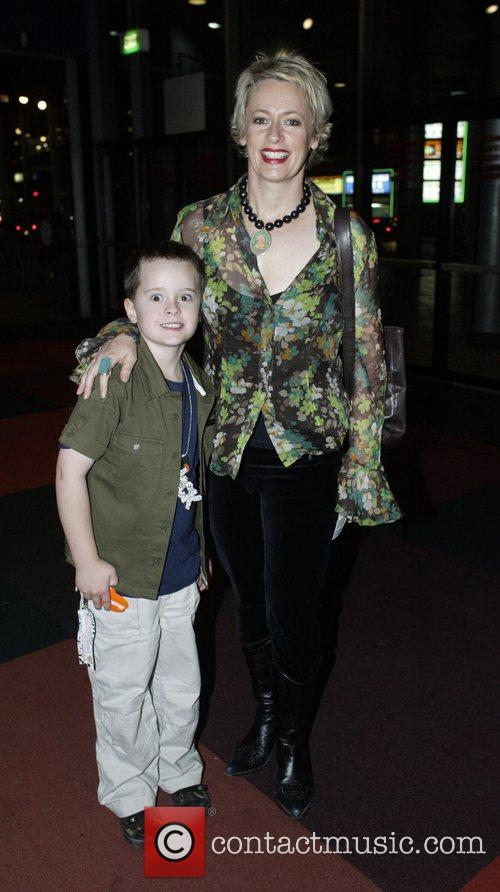 Amanda Keller and her son Nickelodeon Australian Kids'...