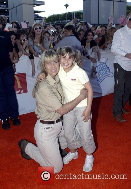 Terri Irwin and Bindi Irwin  Nickelodeon Australian...