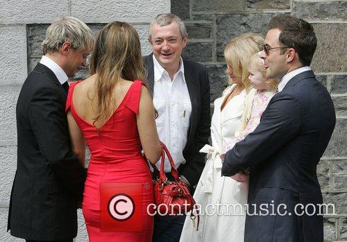 Jody Albert and Cian Egan, Louis Walsh, Gillian...