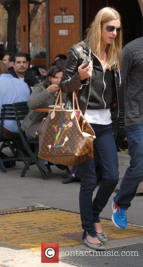 Nicky Hilton and her boyfriend David Katzenberg out...