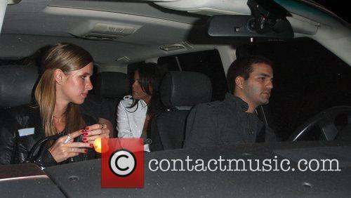 Nicky Hilton leaving Koi restaurant with boyfriend David...
