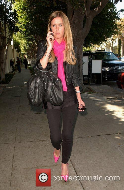 Nicky Hilton doing some shopping on Melrose Avenue...