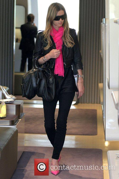 Nicky Hilton shopping on Melrose Avenue Los Angeles,...