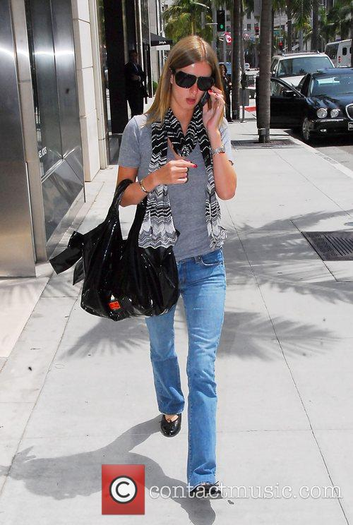 Nicky Hilton shopping on Rodeo Drive in Beverly...