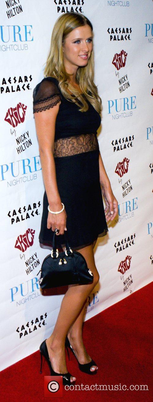 Nicky Hilton, Las Vegas, Caesars Palace, Pure Nightclub