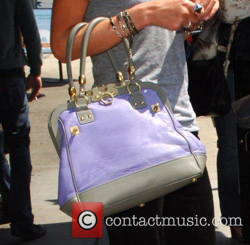 Nicky Hilton  leaving Toast cafe with a...