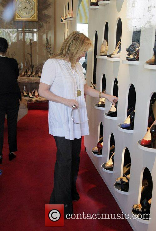 Nicky Hilton, Kathy Hilton Get Some Retail Therapy In West Hollywood. Mother, Daughter Were Shopping At Various Hollywood Boutiques Including Petrozilla, Hillary Rush and Christian Louboutin Shoes 6