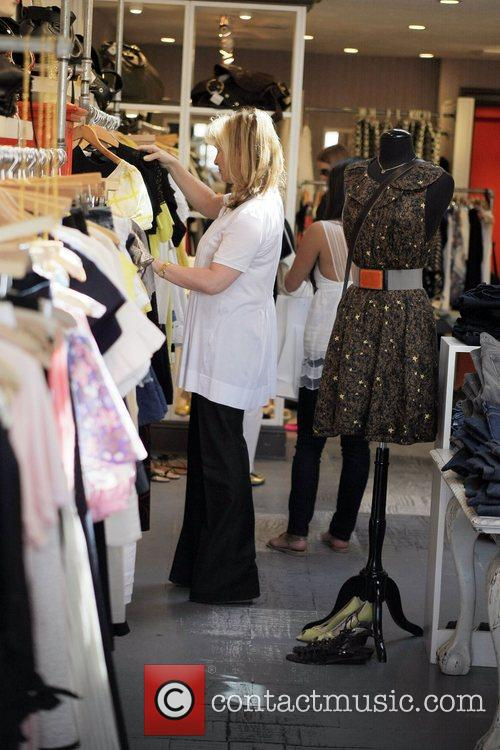 Nicky Hilton, Kathy Hilton Get Some Retail Therapy In West Hollywood. Mother, Daughter Were Shopping At Various Hollywood Boutiques Including Petrozilla, Hillary Rush and Christian Louboutin Shoes 2