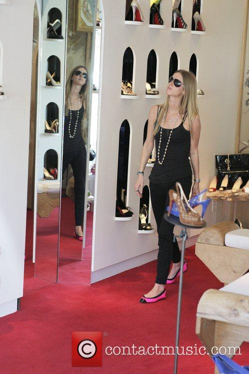 Nicky Hilton, Kathy Hilton Get Some Retail Therapy In West Hollywood. Mother, Daughter Were Shopping At Various Hollywood Boutiques Including Petrozilla, Hillary Rush and Christian Louboutin Shoes 7