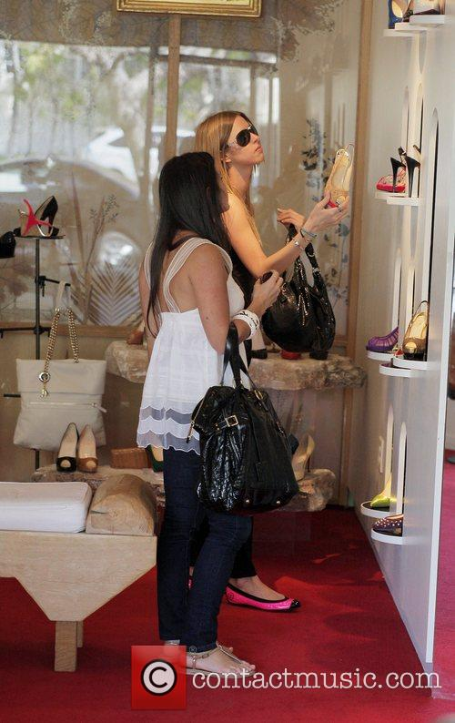 Nicky Hilton, Kathy Hilton Get Some Retail Therapy In West Hollywood. Mother, Daughter Were Shopping At Various Hollywood Boutiques Including Petrozilla, Hillary Rush and Christian Louboutin Shoes 10