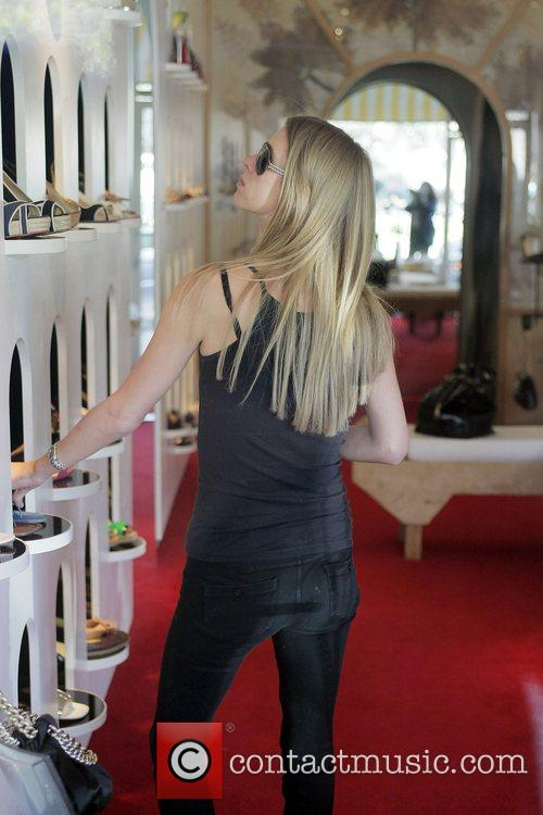 Nicky Hilton, Kathy Hilton Get Some Retail Therapy In West Hollywood. Mother, Daughter Were Shopping At Various Hollywood Boutiques Including Petrozilla, Hillary Rush and Christian Louboutin Shoes 4