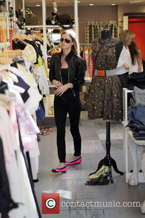 Nicky Hilton, Kathy Hilton Get Some Retail Therapy In West Hollywood. Mother, Daughter Were Shopping At Various Hollywood Boutiques Including Petrozilla, Hillary Rush and Christian Louboutin Shoes 9
