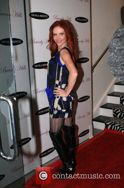 Phoebe Price Launch of new clothing line at...