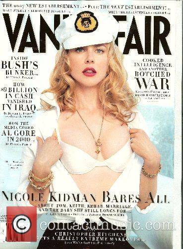 Nicole Kidman on the cover on Vanity Fair