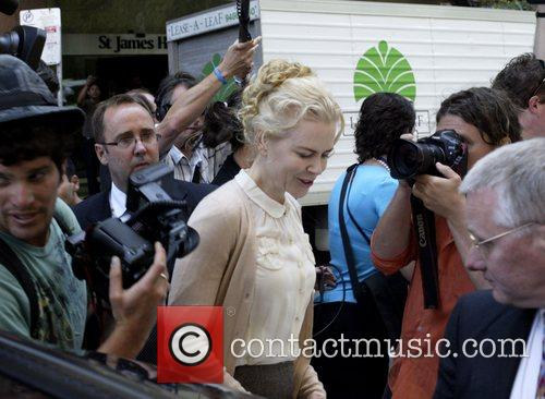 Nicole Kidman arriving at Supreme Court