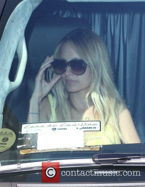 Nicole Richie leaving Barneys Los Angeles, California