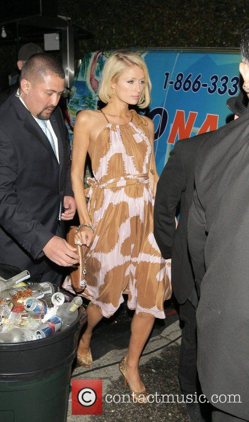 Paris Hilton  leaving the opening party for...