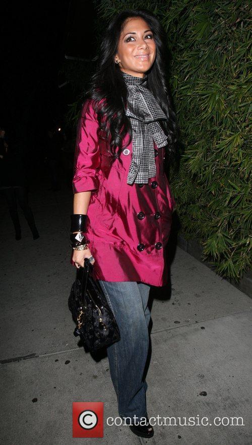 Nicole Scherzinger arriving at Koi restaurant Los Angeles,...