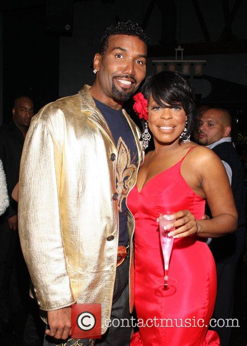 Norwood Young and Niecy Nash Niecy Nash's Birthday...