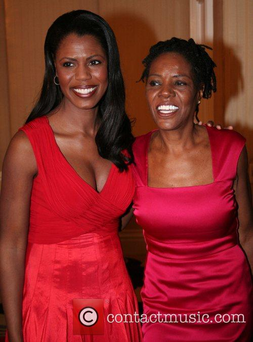 Omarosa Manigault-Stallworth & her mother,  The 18th...