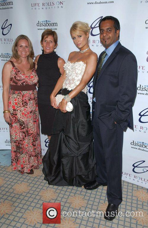 Paris Hilton and guests The 4th Annual Night...
