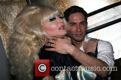 Lady Bunny and Sally Singer