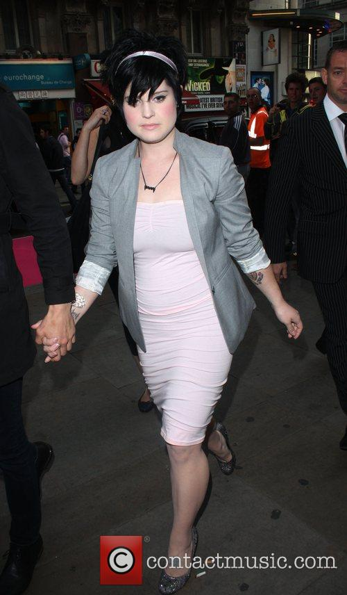 Kelly Osbourne arriving at 'A Night Of Tease'...