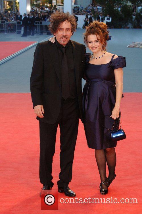 Tim Burton and Helena Bonham Carter 5