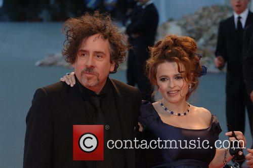 Tim Burton and Helena Bonham Carter 7