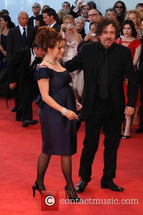 Tim Burton and Helena Bonham Carter 5
