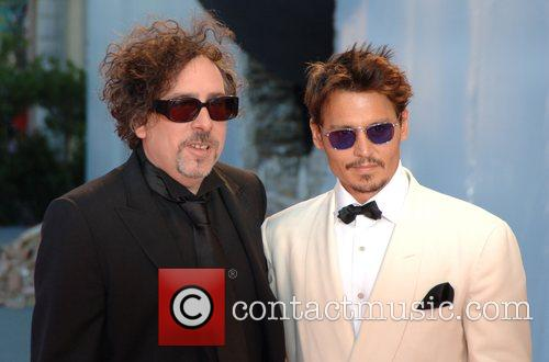 Tim Burton and Johnny Depp 3