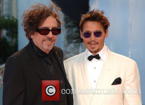 Tim Burton, Johnny Depp, Venice Film Festival